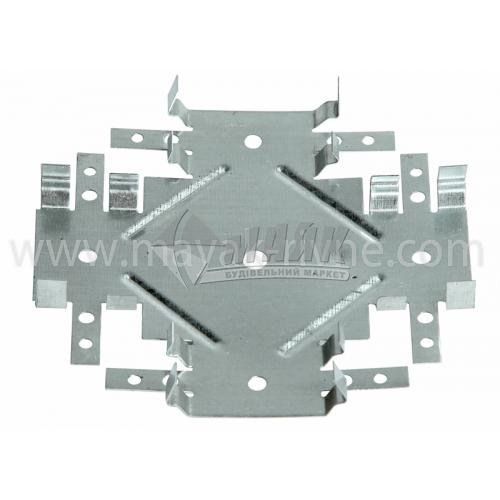 З'єднання універсальне (крабове) для CD-профілю 0,63 мм