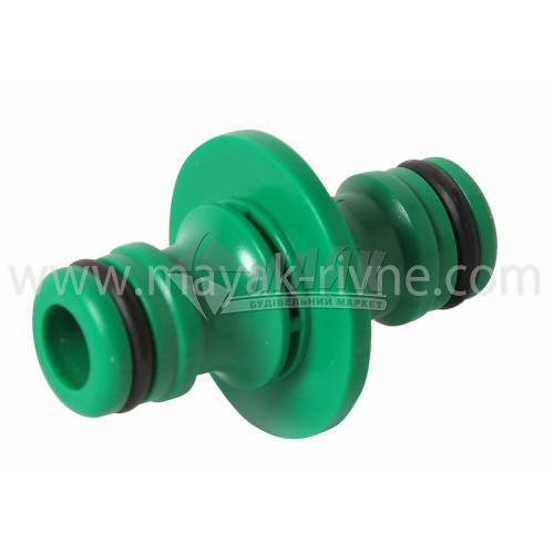 З'єднувач для шланга пластиковий Bradas LE5804/LE2200 двосторонній