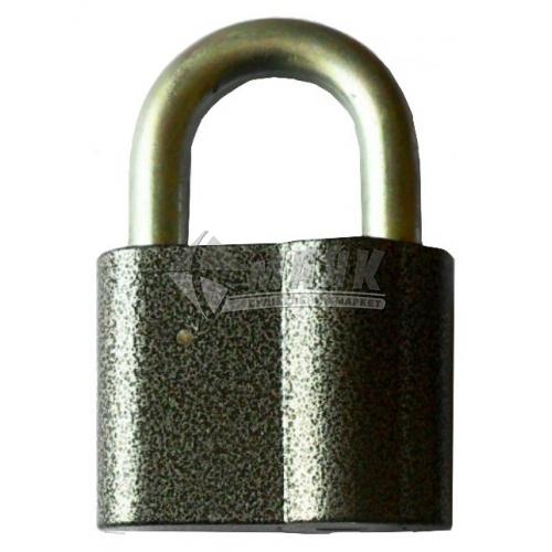 Замок навісний відкритий (амбарний) Голеол 3ВС-13 3 ключі алюмінієвий