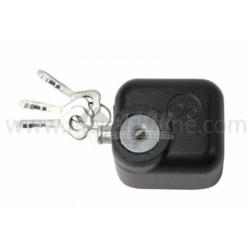 Замок накладний (краб) Голеол 3ВС-17 3 ключі чавунний