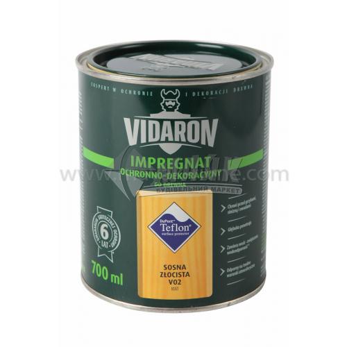 Захист для деревини Vidaron Impregnat 4в1 V02 700 мл золота сосна