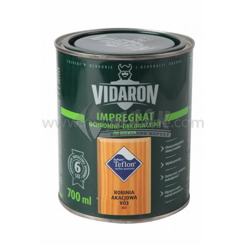 Захист для деревини Vidaron Impregnat 4в1 V03 700 мл біла акація