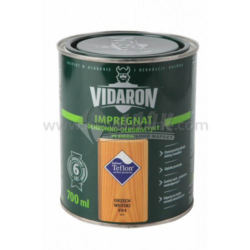 Захист для деревини Vidaron Impregnat 4в1 V04 700 мл горіх грецький