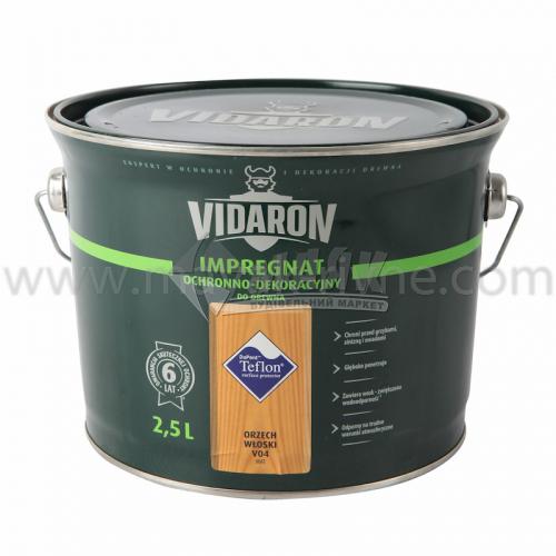 Захист для деревини Vidaron Impregnat 4в1 V04 2,5 л горіх грецький
