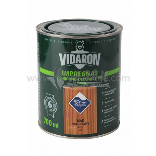 Захист для деревини Vidaron Impregnat 4в1 V05 700 мл тик натуральний