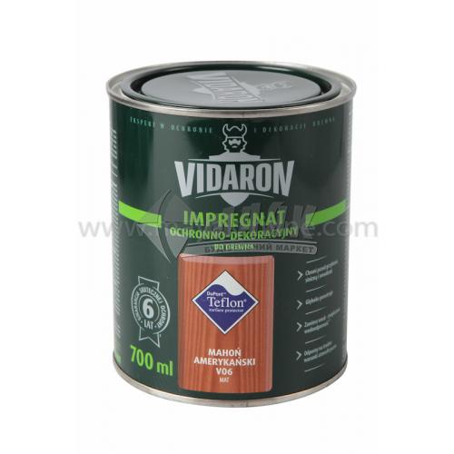 Захист для деревини Vidaron Impregnat 4в1 V06 700 мл американське червоне дерево
