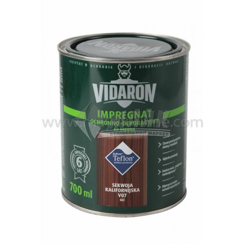 Захист для деревини Vidaron Impregnat 4в1 V07 700 мл каліфорнійська секвоя