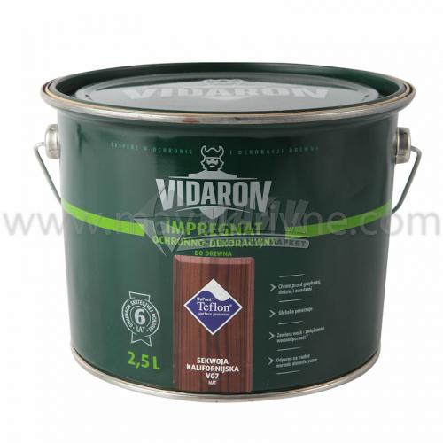 Захист для деревини Vidaron Impregnat 4в1 V07 2,5 л каліфорнійська секвоя