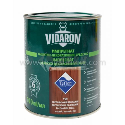 Захист для деревини Vidaron Impregnat 4в1 V08 700 мл королівський палісандр