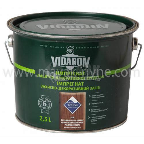 Захист для деревини Vidaron Impregnat 4в1 V08 2,5 л королівський палісандр