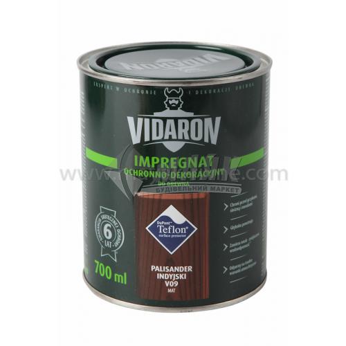 Захист для деревини Vidaron Impregnat 4в1 V09 700 мл індійський палісандр