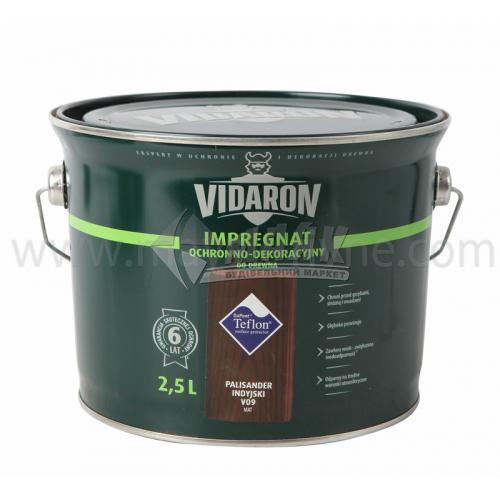 Захист для деревини Vidaron Impregnat 4в1 V09 2,5 л індійський палісандр