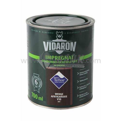 Захист для деревини Vidaron Impregnat 4в1 V10 700 мл африканське венге