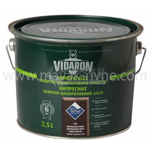 Захист для деревини Vidaron Impregnat 4в1 V10 2,5 л африканське венге
