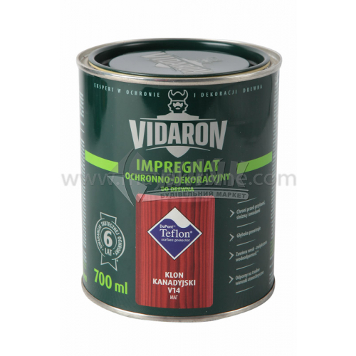 Захист для деревини Vidaron Impregnat 4в1 V14 700 мл канадський клен