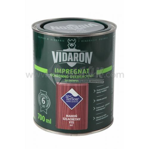 Захист для деревини Vidaron Impregnat 4в1 V15 700 мл благородне червоне дерево