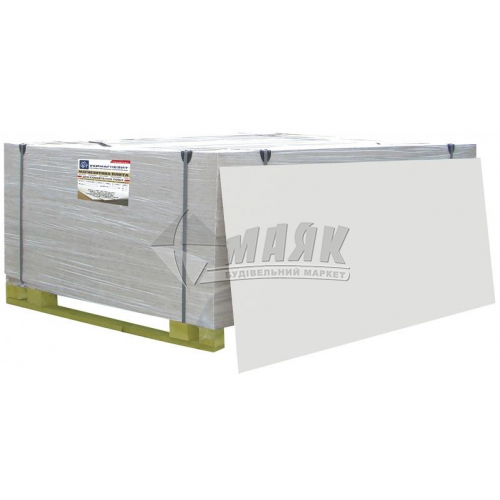 Плита магнезитова УкрМагнезит Стандарт 10×600×1200 мм ґатунок 1