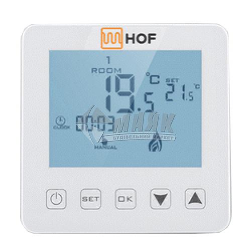 Терморегулятор для теплої підлоги HOF SEN сенсорний білий