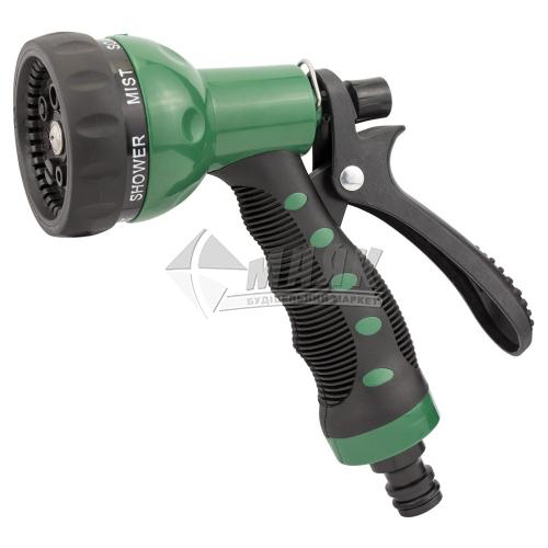 Пістолет-розпилювач пластиковий Grad 7 режимів ергономічна ручка