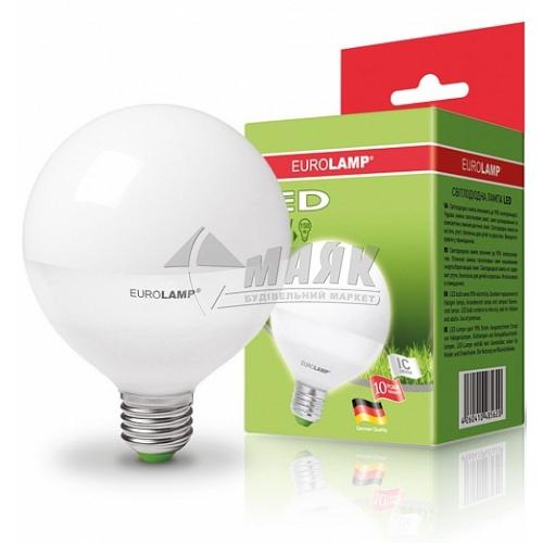 Лампа світлодіодна куля EUROLAMP 15Вт Е27 G95 4000°К (LED-G95-15274(D))