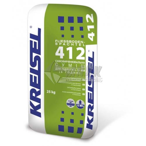 Самовирівнювальна підлога Kreisel 412 шар 3-15 мм 25 кг