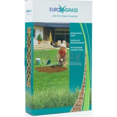 Насіння Садиба Центр Euro Grass Газонна трава Відновлювана 100 г