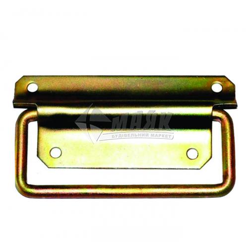 Ручка дверна накладна Ляда 117×50 мм цинк