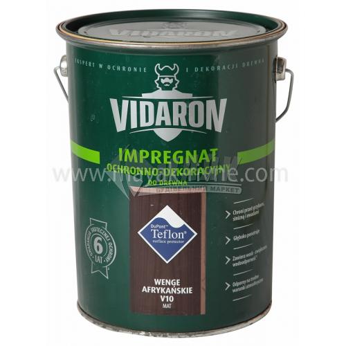 Захист для деревини Vidaron Impregnat 4в1 V10 9 л африканське венге