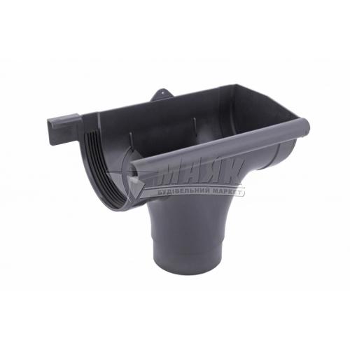 Лійка (воронка) пластикова права P Profil 130/100 графіт