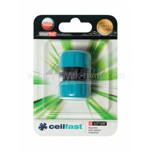 """З'єднувач для шланга пластиковий Cellfast ремонтний 1/2"""""""