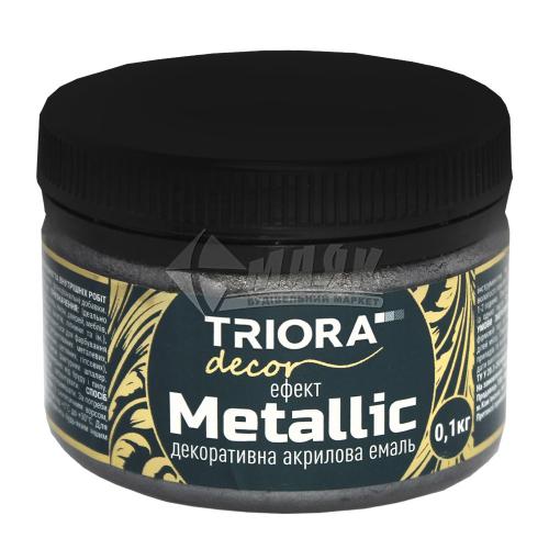 Фарба декоративна TRIORA Metallic 0,1 кг 923 графіт