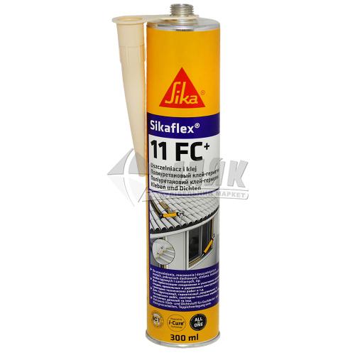 Клей-герметик поліуретановий Sikaflex 11 FC 300 мл бежевий