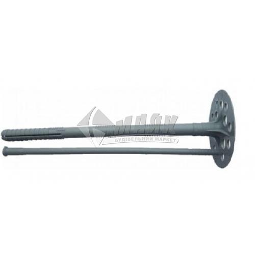 Дюбель для теплоізоляції пластиковий цвях 10×140 мм