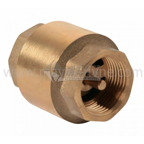 """Клапан зворотнього ходу води Armatura 3/4"""" металевий шток"""