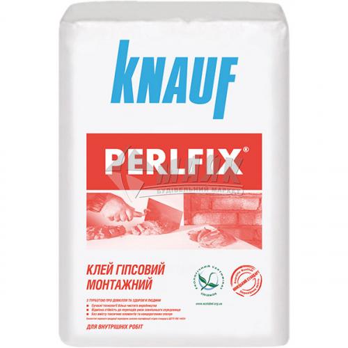 Клей монтажний для гіпсокартону Knauf PERLFIX 15 кг