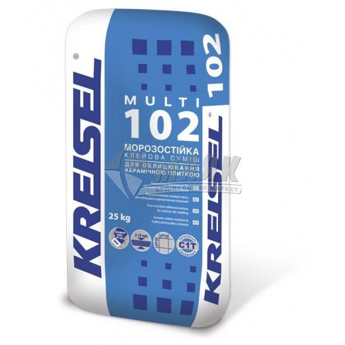 Клей для облицювальної плитки Kreisel Multi 102 Морозостійкий 25 кг