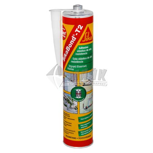 Клей-герметик монтажний SikaBond-T2 300 мл білий