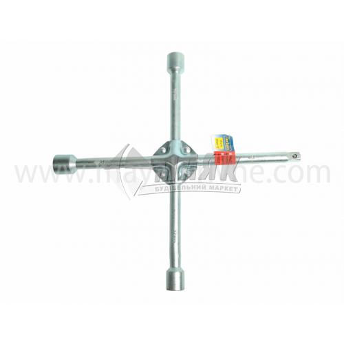 Ключ балонний хрестоподібний посилений 17×19×22×12,5 мм
