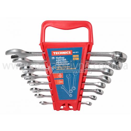 Набір ключів ріжково-накидних 6-19 мм 8 шт