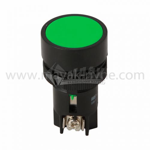 Кнопка Пуск IEK SВ-7 22 мм 240В зелена