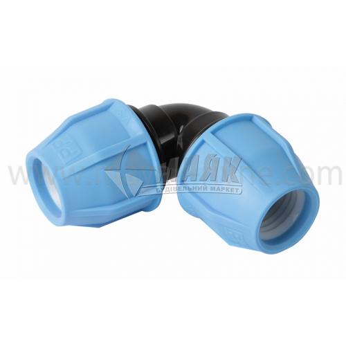 Коліно для водопровідної труби VS Plast 32 мм