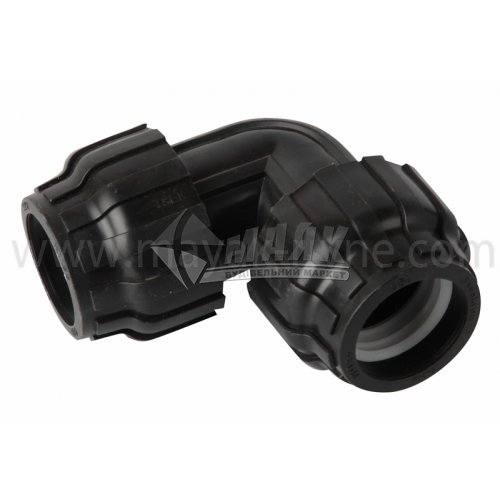 Коліно для водопровідної труби VS Plast 50 мм