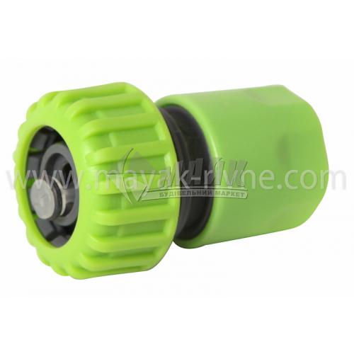 """Конектор пластиковий з аквастопом Bradas LE2150/GL5820 3/4"""""""