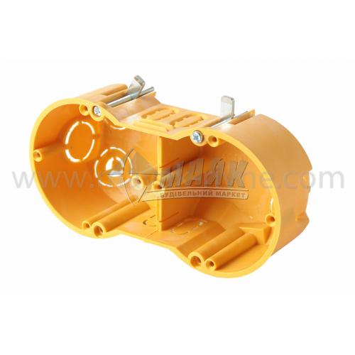 Коробка монтажна Копос 64-50/2LD двомісна 70×40 мм для гіпсокартону