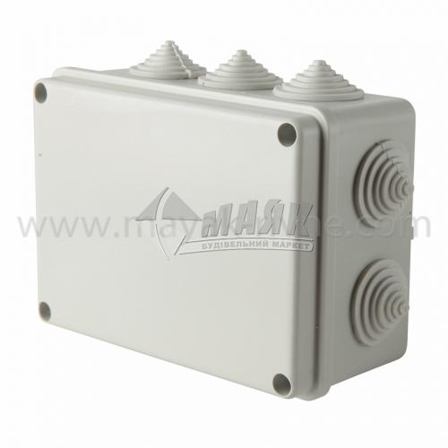 Коробка розподільча IEK КМ41241 150×110×70 мм прямокутна