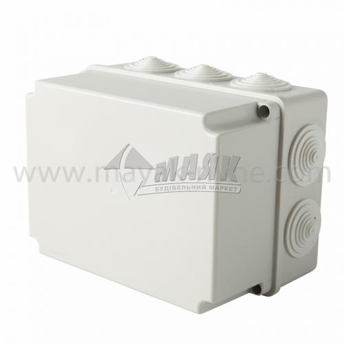 Коробка розподільча IEK КМ41245 190×140×120 мм прямокутна