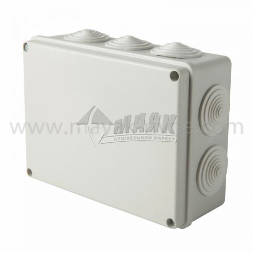 Коробка розподільча IEK КМ41244 190×140×70 мм прямокутна