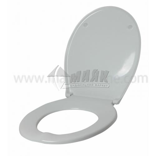 Сидіння для унітазу поліпропіленове біле