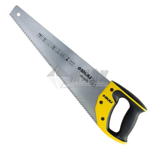 Ножівка по дереву SIGMA Grizzly 7TPI 400 мм пластикова ручка