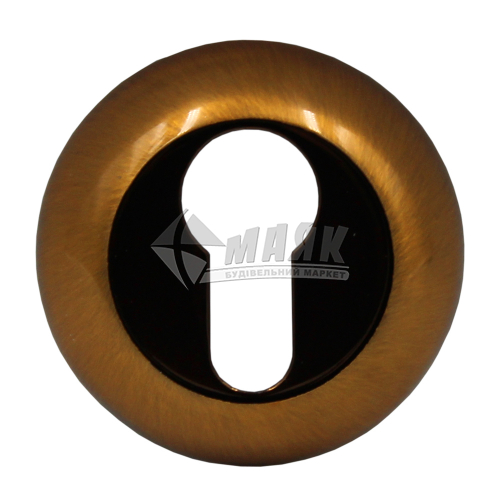 Накладка на циліндр кругла MVM E9 PCF бронза полірована